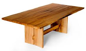 solid maple dining table hand made live edge slab maple dining table by j holtz furniture to