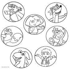 free printable dora coloring pages kids cool2bkids