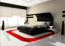 Bedroom Decorating Ideas Red Black White House Design And - White and red bedroom designs
