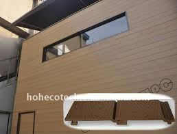 Interior Wall Siding Panels Plastic Wood Siding Wood Plastic Composite Exterior Wall Cladding