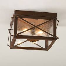 Rustic Ceiling Lights Rustic Ceiling Light Awesome Fixtures Jeffreypeak With Regard To 7