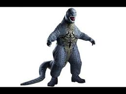 Kids Godzilla Halloween Costumes Godzilla Inflatable Costume Deluxe