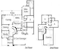 floor plan with garage astonishing tandem garage house plans photos best idea home