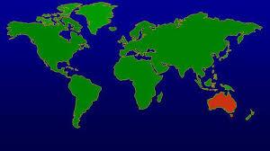 australia world map location australia on the world map by downunderau on deviantart