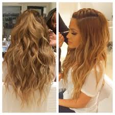 2 braids in front hair down hairstyle long natural hair braid color combo inspiration for summer hair style makeup and