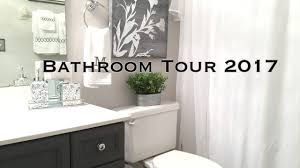 Bathroom Decorative Ideas by Bathroom Decorating Ideas U0026 Tour On A Budget Youtube