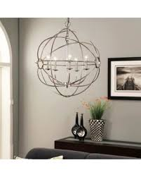 Orb Chandelier Fall Into This Deal 10 Off Abbyson Chandler 5 Light Chrome Orb