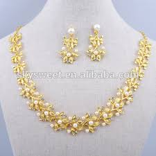 necklace set artificial necklace sets cheap pearl gold necklace set buy pearl