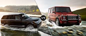 land rover jeep 2014 mercedes benz g class vs 2016 land rover range rover