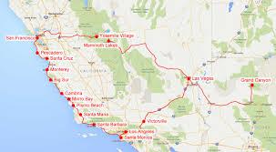 Road Trip Map Usa by A Sunny Morning In Santa Barbara 1 15 Mersad Donko Photography