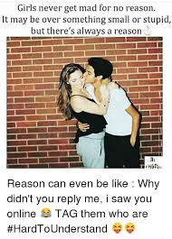 Why You No Reply Meme - 19 funny memes about girls that will amuse you