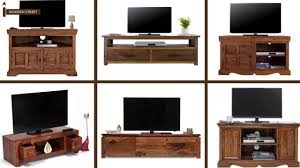 Led Tv Table 2015 Tv Unit Online Buy Wooden Tv Units From Wooden Street Youtube