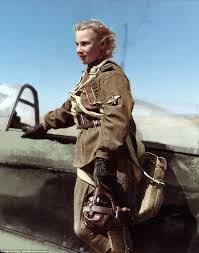 female soviet pilots transformed in colourised wwii photos daily