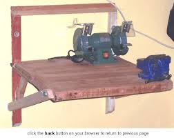 Plans To Make A Wooden Workbench by Wall Mounted Work Bench