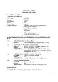 microbiology resume sample with personal information and