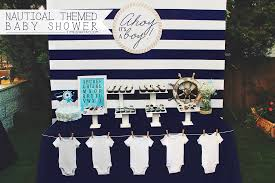 Nautical Theme A Nautical Themed Baby Shower Time2partay Com