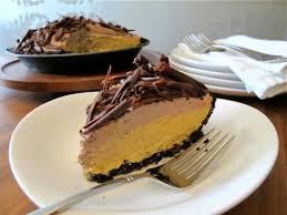 thanksgiving pie countdown no bake chocolate pumpkin mousse pie