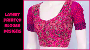 blouse patterns printed blouse patterns