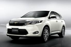 toyota new suv car toyota reveals new harrier suv in japan video autoevolution