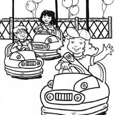 nut coloring page little give nut to an elephant at circus and carnival