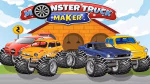 monster truck games video build 4x4 monster truck u2013fix by kids fun studio kids games video
