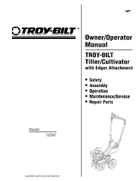 troy bilt tiller 12097 user guide manualsonline com