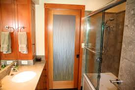 Bathroom Pocket Doors Innovative Fir Cabinets In Bathroom Contemporary With Sliding