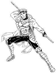 gambit con sketch by jetcomics on deviantart