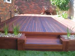 garden ideas for decking brucall com