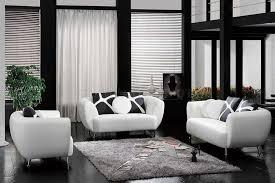Interior Innovative Small Living Room Decorating Using White