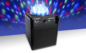 ion bluetooth speaker with lights party power portable speaker system with party lights ion audio
