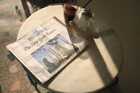 the new york times gt the new york times and a great coffee that s a way to go