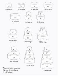 cake tiers wedding cake tiers sizes wedding corners