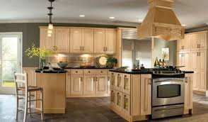 Painting Kitchen Cabinets Brown by Kitchen Cabinet Colors Oak Cabinets W Granite Counters And Stone