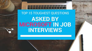 most questions in job interview most tricky job interview questions asked by microsoft youtube
