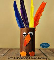 How To Make A Paper Beak - how to make a cardboard turkey craft