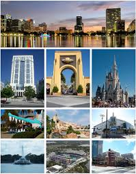 Greater Orlando Area Map by Orlando Florida Wikipedia