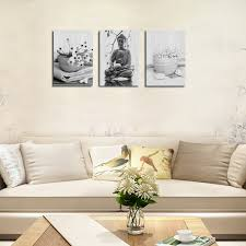 how to hang canvas art without frame qiaojiahuayuan no frame canvas without frame canvas three pieces