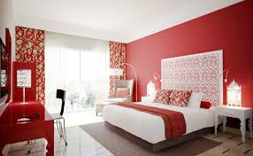 Red Color Combination Color Combination In Bed Room With Red Modern Red Nuance Interior