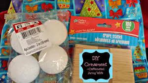 diy fabric christmas bulb ornaments no sew caffeinated army wife