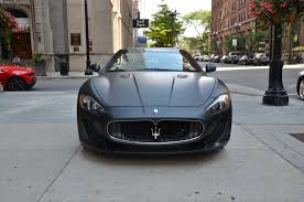convertible maserati price 2013 maserati granturismo mc convertible sport stock l314a for