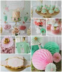 Kitchen Tea Ideas Themes Mint Pink And Gold Tea Party Kara U0027s Party Ideas Tea Parties
