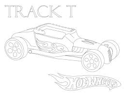hotwheel track coloring coloring