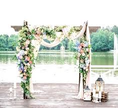 wedding arches using tulle decorated arbors for weddings best wedding arbor decorations ideas