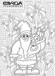 30 dessins de coloriage magique noël à imprimer