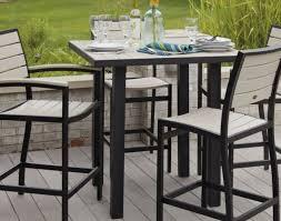 Pub Patio Furniture Patio U0026 Pergola Patio Furniture Bar Height Table Home Design