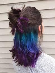 dye bottom hair tips still in style best 25 under hair dye ideas on pinterest under hair color