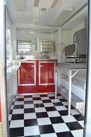 shaved ice trailer gallery advanced concession trailers 1001 interior shaved ice trailer red cabinets