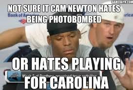 U Of A Memes - cam newton is a douchebag memes westword