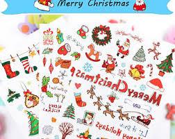 happy holiday merry christmas 2 santa printable cupcake